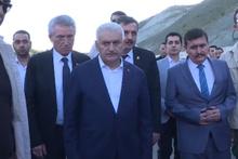 Erzincan'da feci kaza! Başbakan Yıldırım da oradaydı!