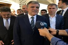 Abdullah Gül'den Erdoğan'a: Allah şifa versin