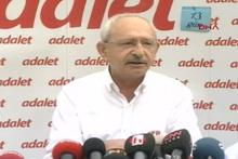 13. günde Kılıçdaroğlu yürüyüş öncesi açıklamalarda bulundu