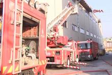 İstanbul Sancaktepe'de korkutan yangın