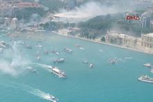 Beşiktaş İstanbul Boğazı'nı fethetti