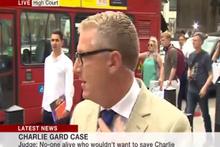 BBC canlı yayınında kaza!