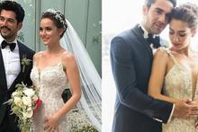 Aşkları dizide başladı mutlu sona kavuştu evlendiler!