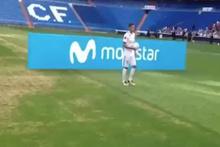 Real Madrid'in yeni transferi, topu 6 kere sektirebilince dalga konusu oldu