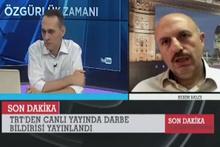 Kerim Balcı'nın 15 Temmuz gecesi unutulmaz hali!