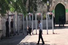 İşgalci İsrail Harem'in girişine metal dedektörler kurdu