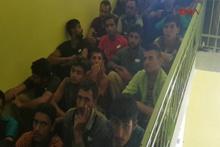 Sivas'ta yol uygulamasında 51 mülteci yakalandı
