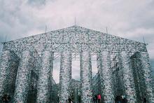 100 bin yasak kitaptan bakın nasıl anıt inşa edildi!