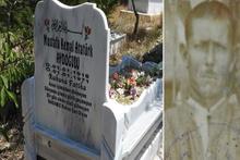 Mezar taşındaki isim jandarmayı harekete geçirdi