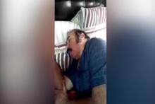 Eşinin horlamasını kaydeden kadından efsane video!
