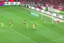 Rakiplerini ipe dizen Japon galibiyet golünü attı