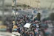 İsrail polisinden Filistinli protestoculara sert müdahale
