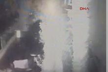 Bodrum'da tsunami araçları böyle sürükledi