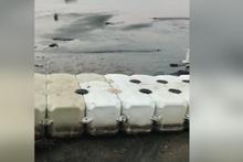 Deprem sonrası Bodrum'da deniz suyu çekildi