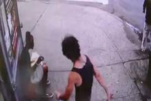 Sokak ortasında cinayet kameraya yansıdı