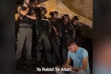 Kudüslü genç Allah'a böyle yalvardı!