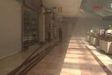 AVM'de yangın paniği! Tahliye edildi