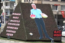Kola yerine karpuzlu billboard