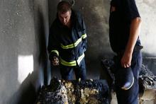 Bursa'da klimadan çıkan yangında 11 kişi dumandan etkilendi