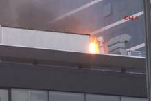 İstanbul'da lüks otelde yangın paniği!