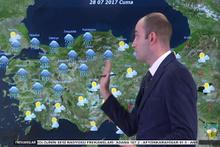 İstanbul'da yağış devam edecek mi? İstanbul 28 Temmuz hava durumu