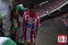Teofilo Gutierrez stadyumda donla gezdi