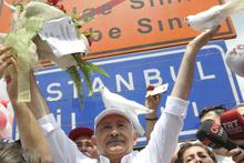 Kılıçdaroğlu İstanbul'a girdi rekoru kırdı
