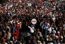 CHP'nin, Berberoğlu'nun tutuklanmasına tepki yürüyüşü tamamlandı