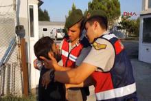57 kişilik otobüste 157 mülteci yakalandı