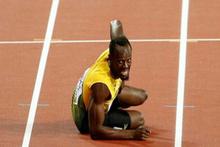 Usain Bolt'tan dramatik veda!