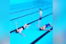 Düşük bütçeli yüzme yarışı