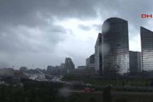 Yağmur bulutları altında İstanbul