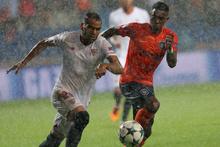 Başakşehir - Sevilla maçından kareler