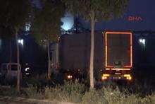 Tankerdeki gaz sızıntısı paniğe neden oldu