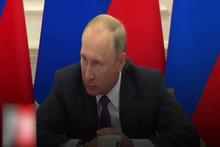 Putin'den canlı yayında fırça