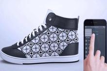 Akıllı ayakkabılar her saniye desen değiştiriyor