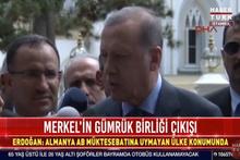 Erdoğan'dan Almanya'daki Türklere flaş çağrı!