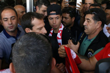 Samir Nasri geldi taraftar coşkuyla karşıladı