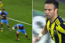 Valbuena'nın Trabzonspor'a attığı golde FB TV