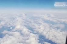 Dünya bunu konuşuyor! Görüntülerdeki UFO mu?