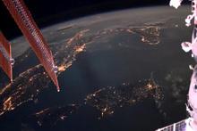 Dünyaya düşen yıldırımların uzaydan kaydedilen görüntüleri