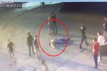 Andrey Drachev'in dövülerek öldürüldüğü anın görüntüleri