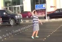 Macarena dansı sonrası gözaltına alıdı