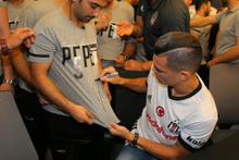 Beşiktaş'ta Pepe izdihamı