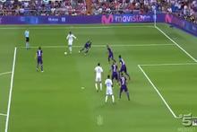 Real Madrid'li Ronaldo'nun gazabından Fiorentina da kurtulamadı