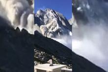 Adeta dağ yıkıldı! Dehşete düşüren görüntü