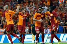 Tolga Ciğerci'nin Sivasspor'a attığı gollerde GS TV