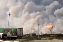 Azerbaycan'da askeri birlikte patlama!