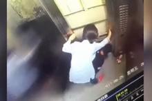 Asansörde korkunç ölüm