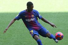 Barcelona'nın yeni transferi Dembele de top sektiremedi!